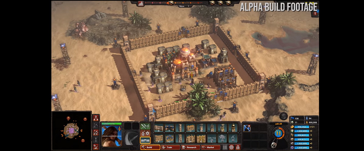 Conan Unconquered Gameplay Footage