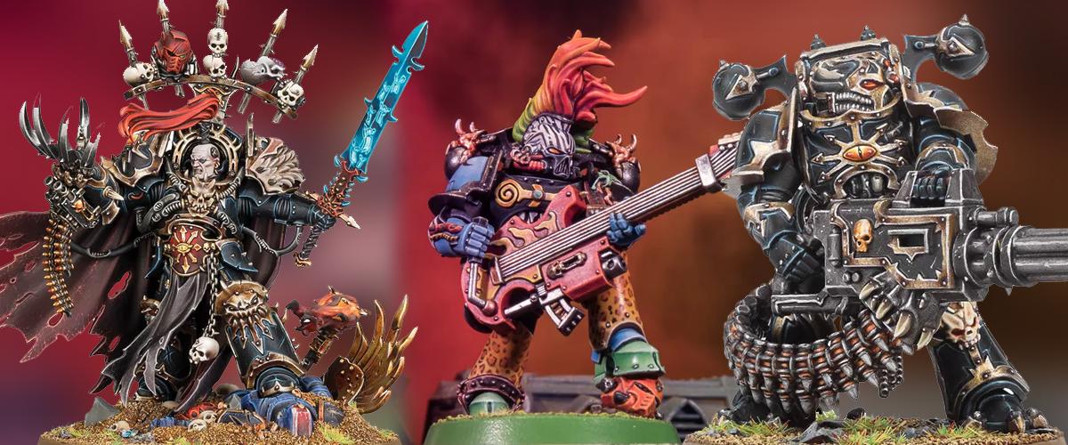 warhammer 40k chaos space marines abaddon sisters of battle new models