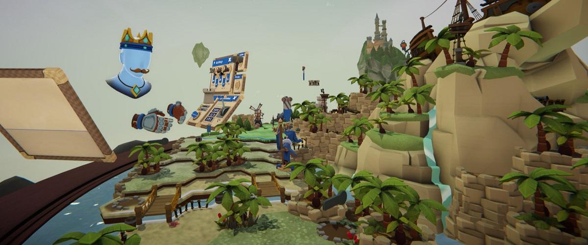 Skyworld VR RTS PlayStation Header