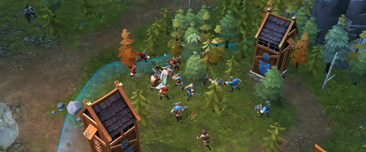 Northgard Co op console release date conquest board game
