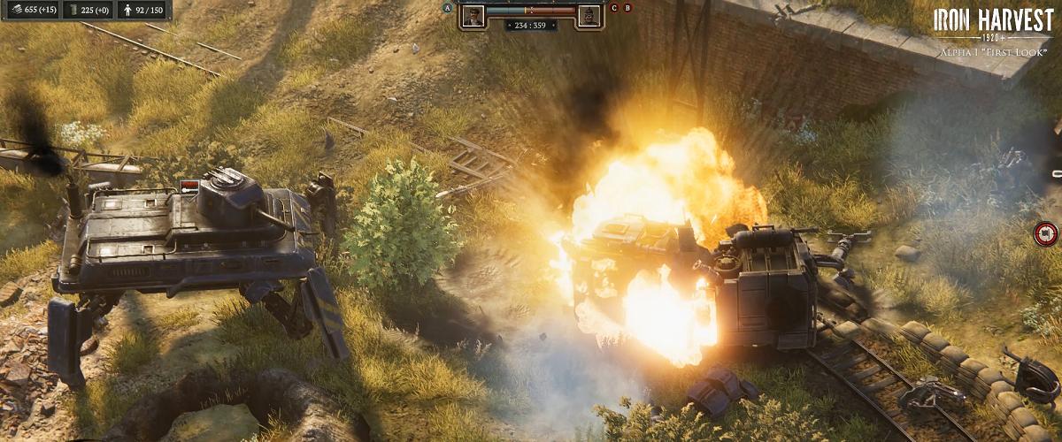 iron harvest playable gamescom 2019