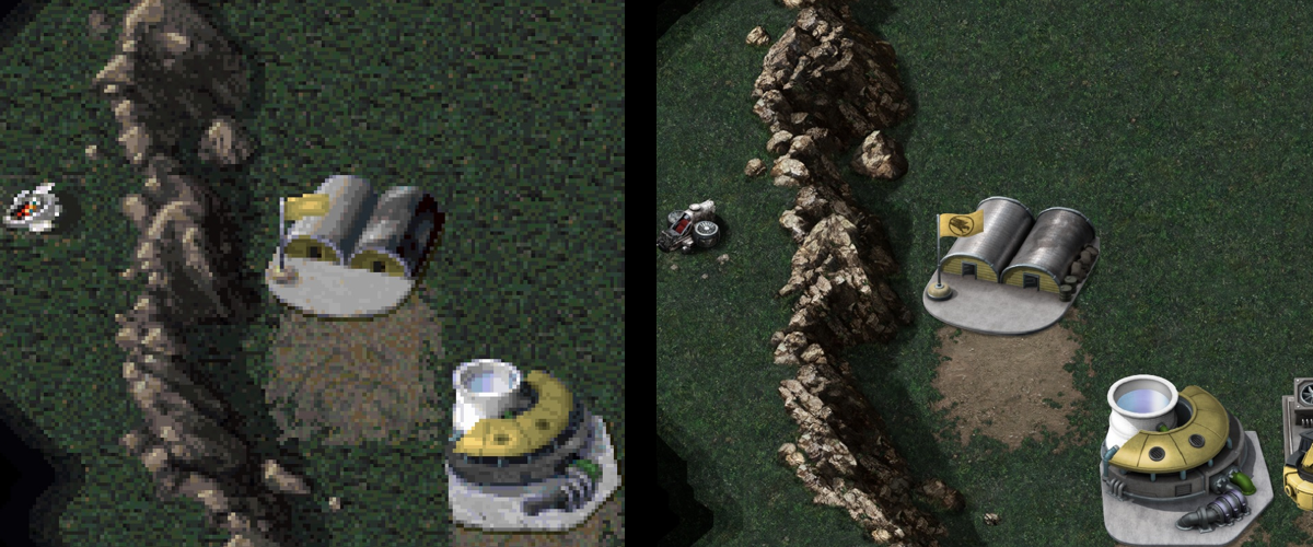 command and conquer ufo helicopter remaster