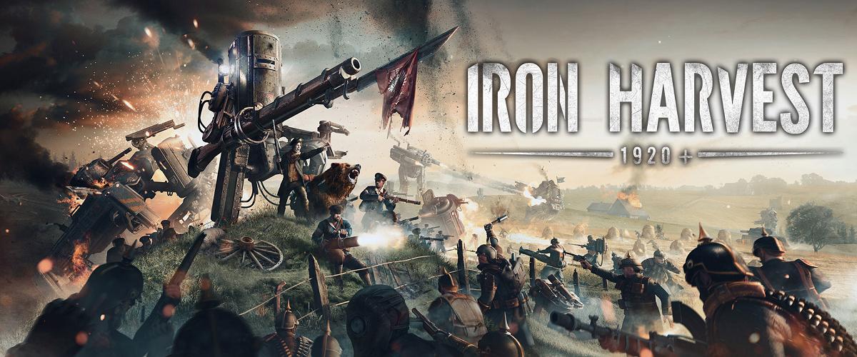 Iron Harvest Dieselpunk RTS Lore Origin Header