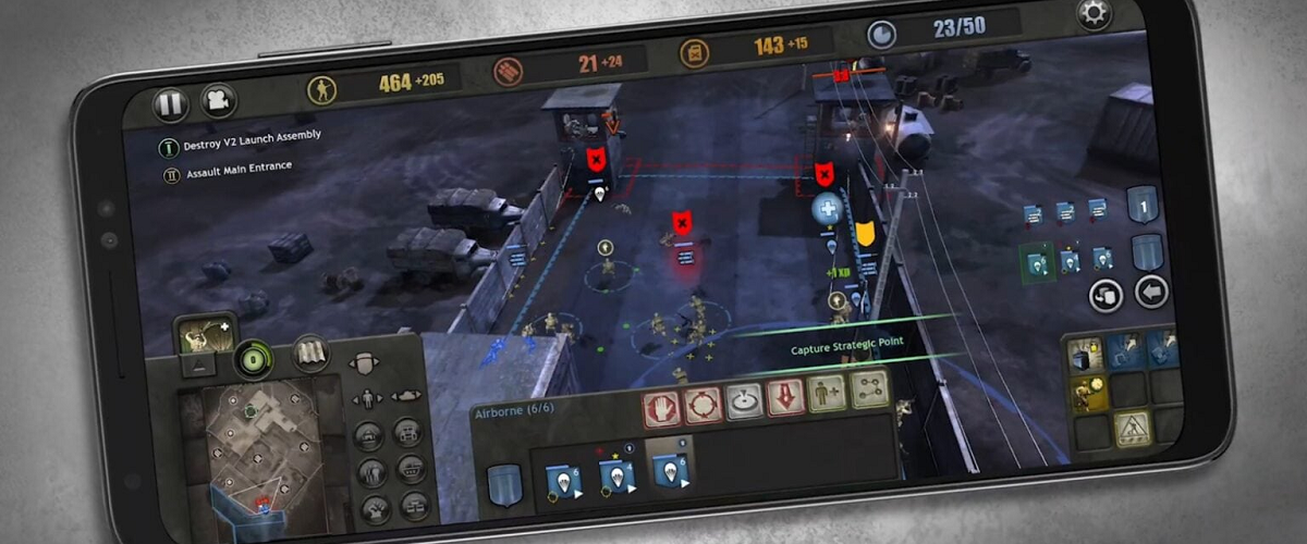 company of heroes ios android download release price date mobile smartphone