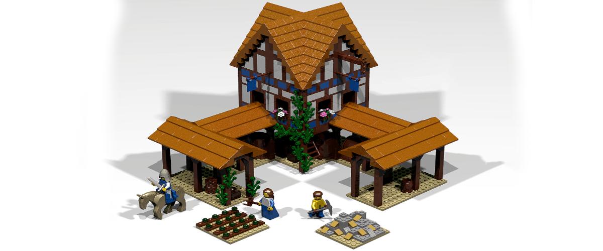Age of Empires 2 Lego Build Town Center