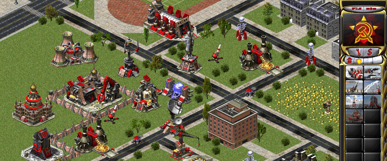 command conquer red alert 2 fan game web browser play online