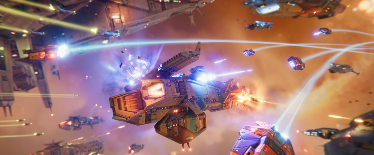 Homeworld RTS Mobile Gearbox Sci Fi Multiplayer Android iOS Borderlands